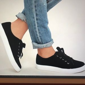 J.Crew Velvet Sneakers